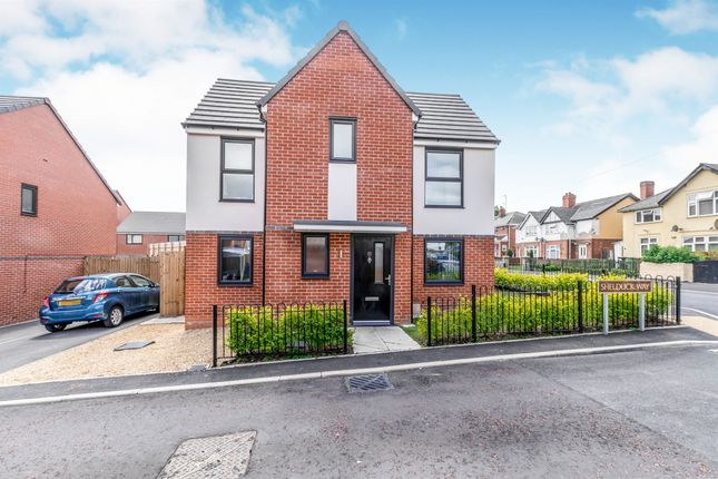 Thumbnail Detached house for sale in Shelduck Way, Walsall