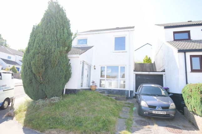Thumbnail Link-detached house for sale in Marlborough Road, Greenmeadow, Cwmbran