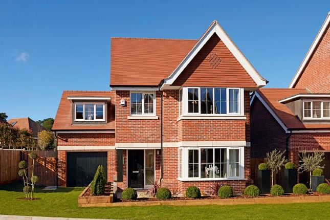 Thumbnail Detached house for sale in Old Bisley Road, Frimley, Surrey