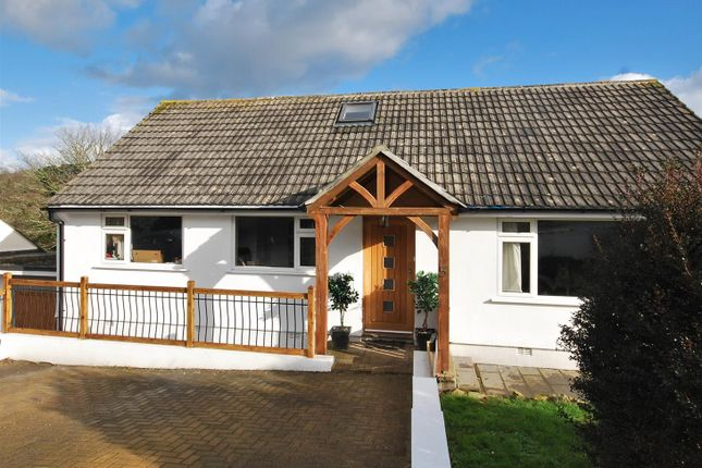 Thumbnail Detached bungalow for sale in Lower Gurnick Road, Newlyn, Penzance