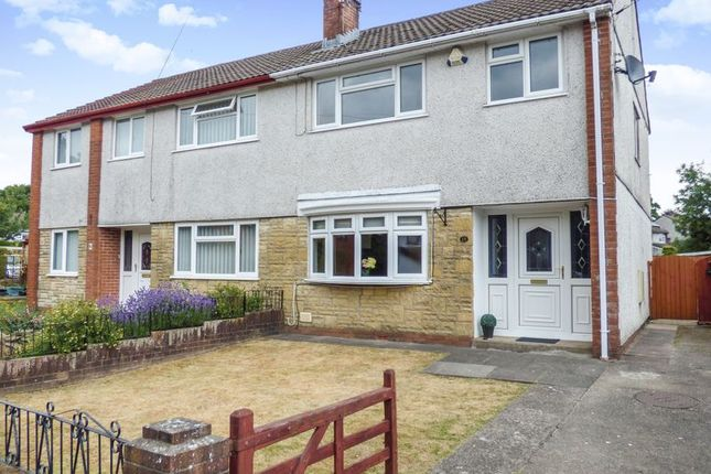 Thumbnail Semi-detached house for sale in Gwaun Fro, Hengoed