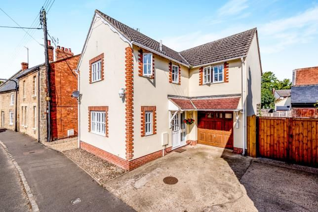 Thumbnail Detached house for sale in High Street, Harrold, Bedford, Bedfordshire