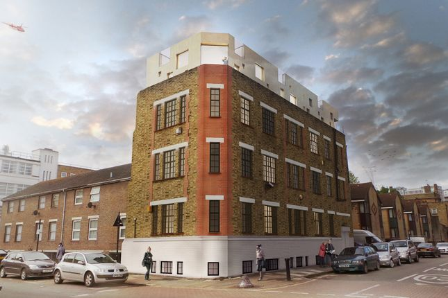 Thumbnail Block of flats for sale in Calico Lofts, Whitechapel