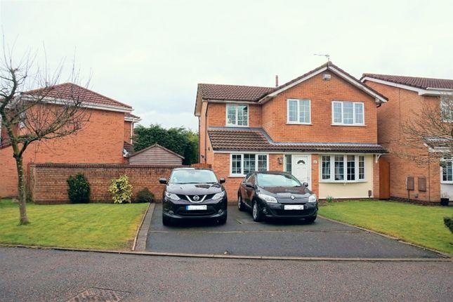 Thumbnail Detached house for sale in Carmarthen Close, Warrington