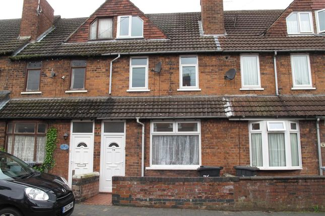 Thumbnail Terraced house to rent in Lord Street, Crewe