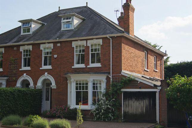 Thumbnail Semi-detached house for sale in Northgate Avenue, Bury St. Edmunds
