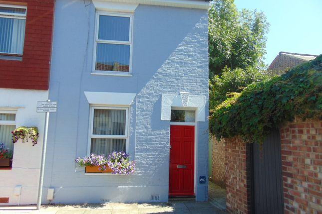 Thumbnail End terrace house to rent in Beatrice Road, Southsea