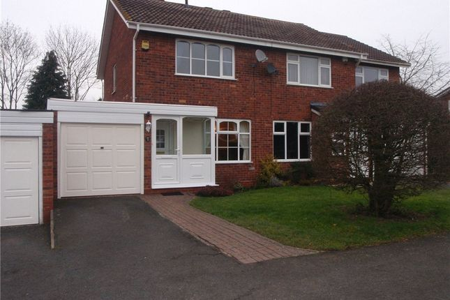 Thumbnail Semi-detached house to rent in Gateley Close, Redditch