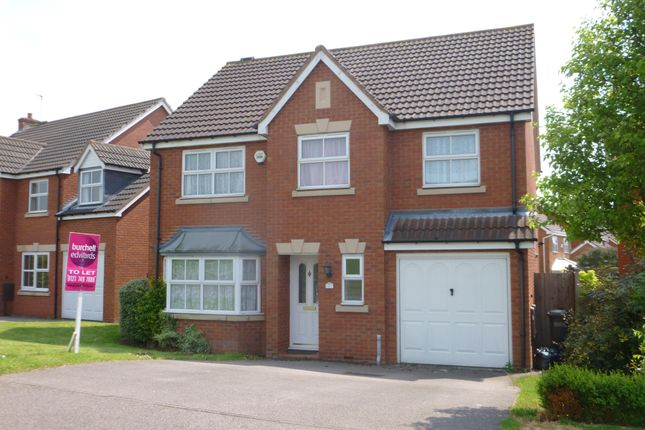 Thumbnail Detached house to rent in Maple Leaf Drive, Marston Green, Birmingham