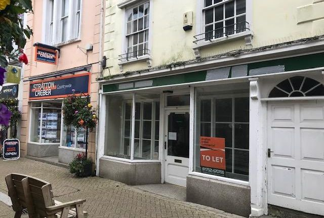 Thumbnail Office to let in 20 Fore Street, Liskeard, Cornwall