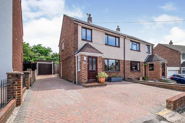 Thumbnail Semi-detached house for sale in Castle Street, Upnor, Rochester, Kent