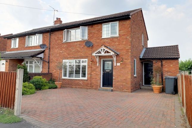 3 bed semi-detached house for sale in Oakfield Road, Alrewas, Burton-On-Trent DE13
