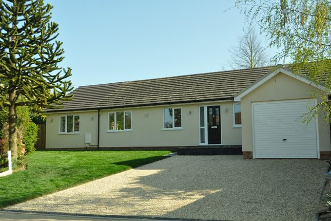 Thumbnail Detached bungalow for sale in Church Close, Ipswich, Suffolk