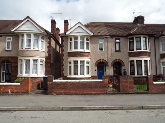 Thumbnail End terrace house for sale in Nuffield Road, Coventry, West Midlands