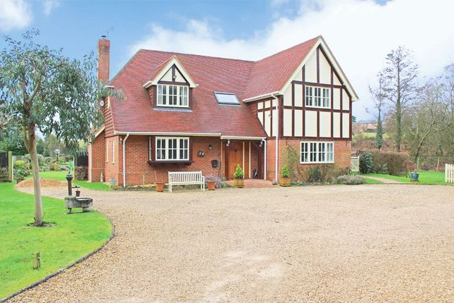 Thumbnail Detached house for sale in Salisbury Road, Sherfield English, Romsey