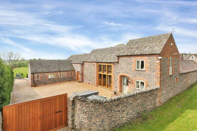 Thumbnail Barn conversion for sale in Rushey Lane, Woodhouse, Loughborough