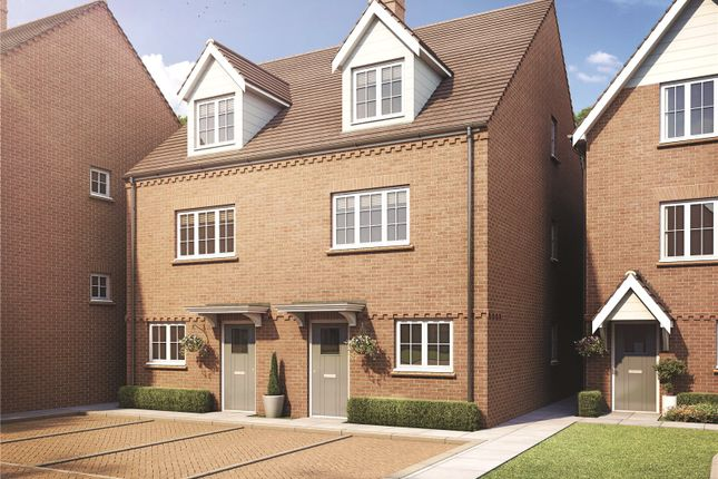 Thumbnail Semi-detached house for sale in Trinity Mews, Springbank Road, Lane End, Buckinghamshire