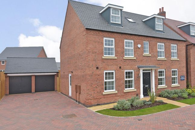 "Thumbnail Detached house for sale in ""Buckingham"" at Dunbar Way, Ashby-De-La-Zouch"