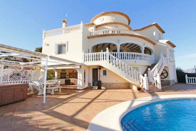 Thumbnail Villa for sale in Unique Luxury 5 Bed Villa With Panoramic Views, Denia, Northern Costa Blanca