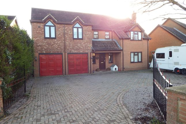 4 bed detached house for sale in Ropers Gate, Lutton PE12