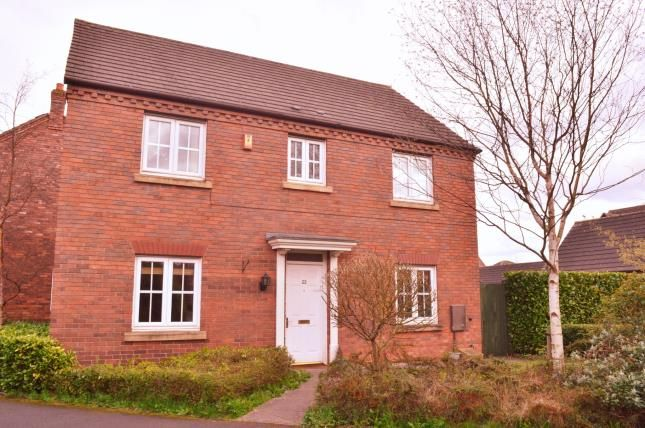 Thumbnail Detached house for sale in Walnut Walk, Lichfield, Staffordshire