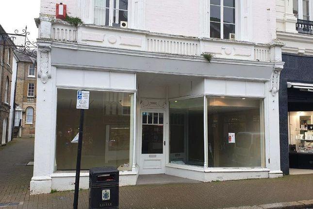 Thumbnail Retail premises to let in King Street, Saffron Walden