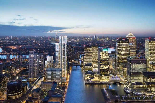 Thumbnail Flat for sale in Marsh Wall, Canary Wharf