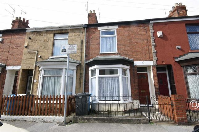 Thumbnail Terraced house to rent in Newstead Street, Hull