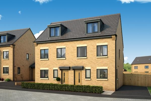 "Thumbnail Property for sale in ""The Bamburgh At Serene, Leeds"" at South Parkway, Seacroft, Leeds"