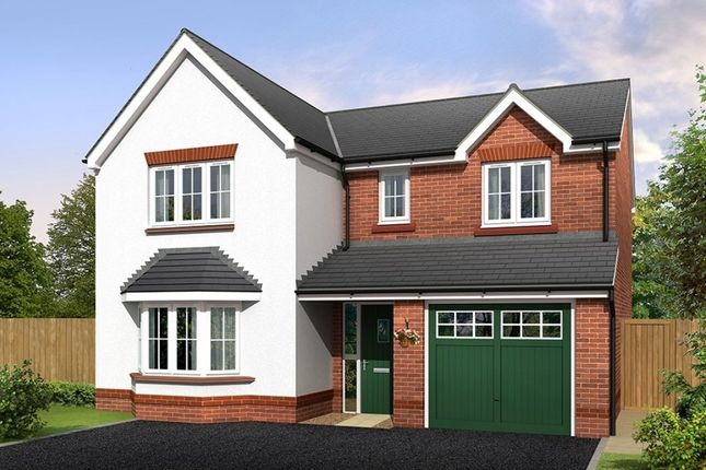 """Thumbnail Detached house for sale in """"Brampton"""" at Croxton Lane, Middlewich"""