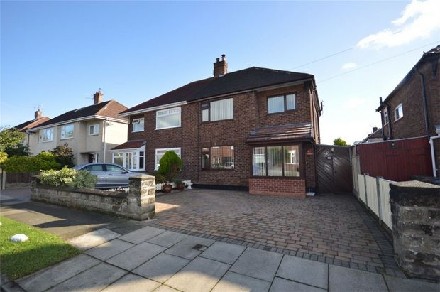 Thumbnail Semi-detached house for sale in Teesdale Road, Bebington, Merseyside