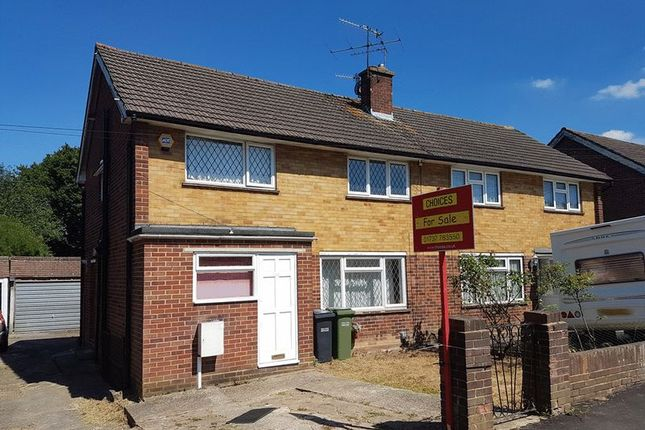 Thumbnail Semi-detached house to rent in The Crescent, Horley