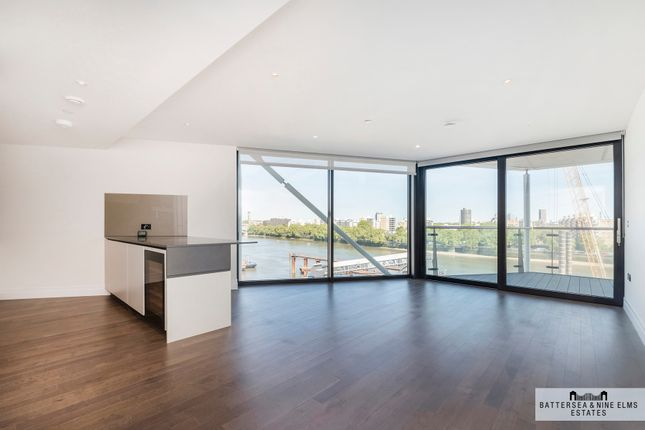 Thumbnail Flat for sale in Riverlight Quay, London