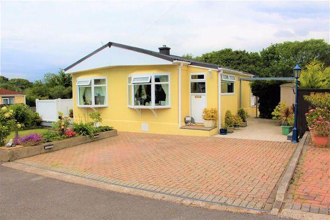 Thumbnail Mobile/park home for sale in Cannisland Park, Parkmill, Swansea