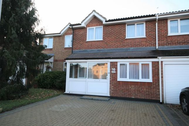 Thumbnail End terrace house to rent in Webster Close, Hornchurch