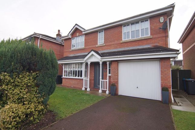 Thumbnail Detached house for sale in Orchard Close, Freckleton