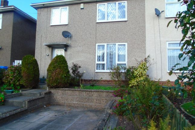 Thumbnail 3 bed semi-detached house to rent in Lombard Street, Mackworth, Derby