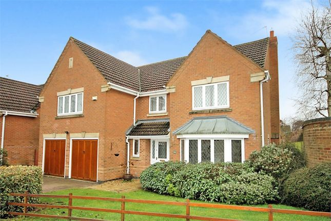 Thumbnail Detached house for sale in The Ashway, Brixworth, Northampton