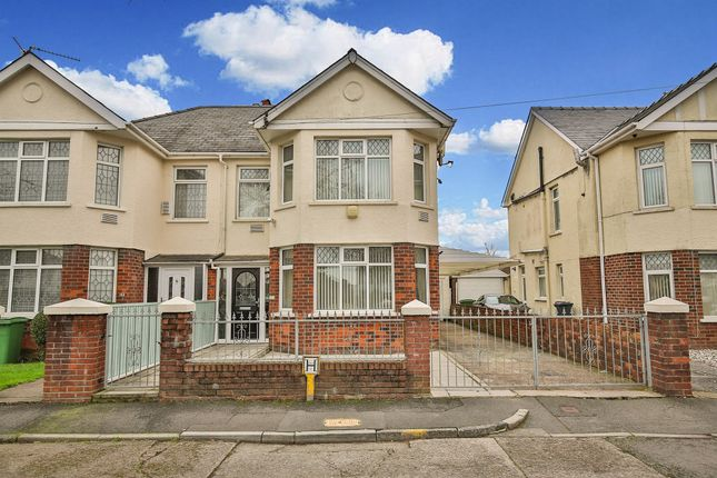 Thumbnail Semi-detached house for sale in Manor Way, Whitchurch, Cardiff