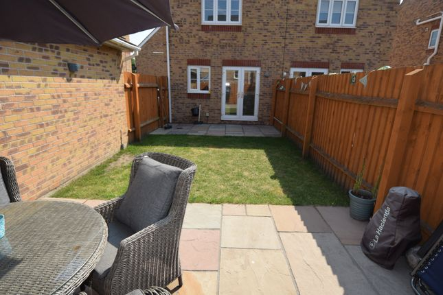 Garden of Farnham Close, Barrow-In-Furness, Cumbria LA13