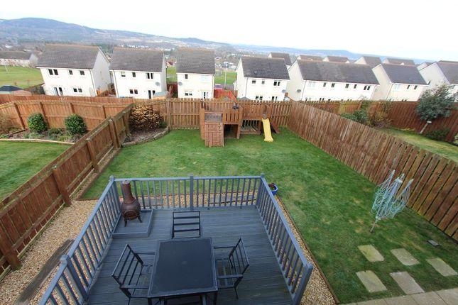 Garden of 10 Bramble Close, Slackbuie, Inverness IV2