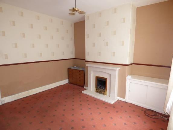 Lounge of Cameron Street, Burnley, Lancashire BB10