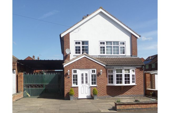 Thumbnail Detached house for sale in Paske Avenue, Gaddesby