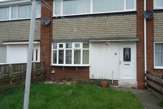 Thumbnail Terraced house to rent in Broomlee, Ashington