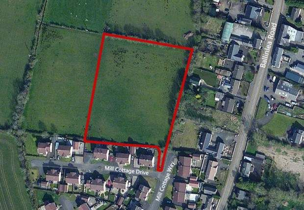 Thumbnail Land to let in Mill Cottage Drive, Stranocum, Ballymoney, County Antrim