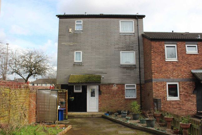 Thumbnail End terrace house to rent in Collett Road, Leicester