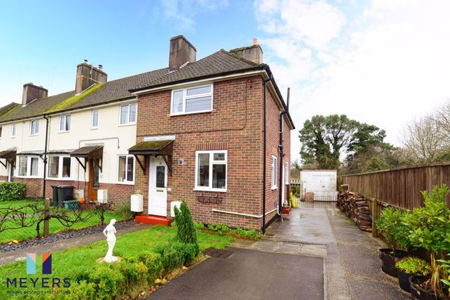 End terrace house for sale in Andover Green, Bovington