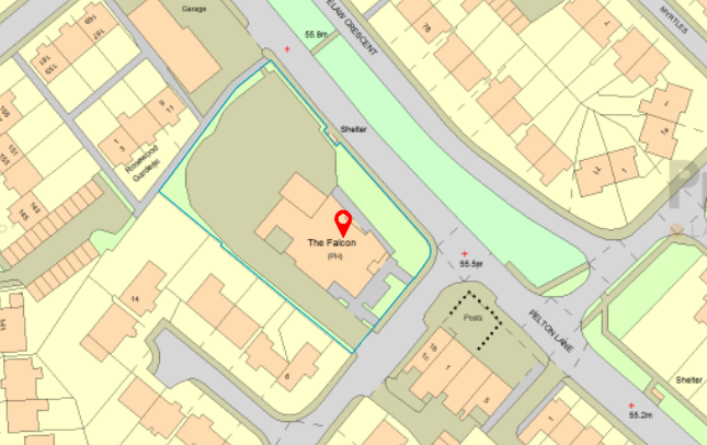 Thumbnail Land for sale in Greenfields, Ross, Ouston, Chester Le Street