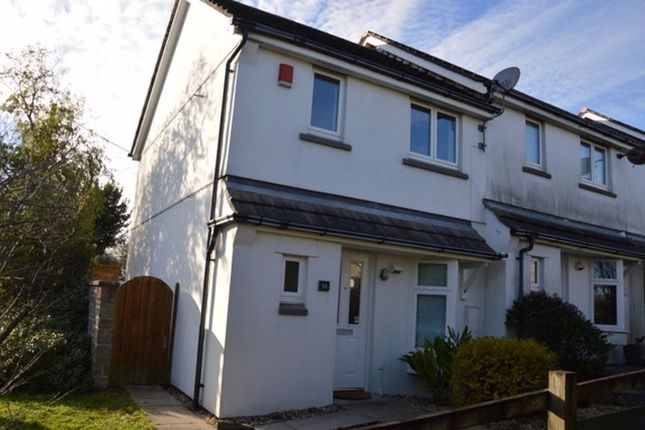 Thumbnail End terrace house to rent in Two Bedroomed End Terraced House. Kitchen, Lounge/Diner, Bathroom, Conservatory, Downstairs WC, Oil Heating, Garden, Parking Spaces.