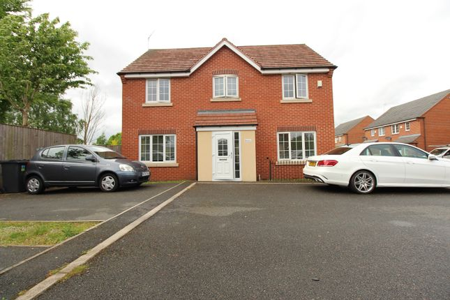 Thumbnail Link-detached house for sale in Market Garden Close, Thurmaston, Leicestershire
